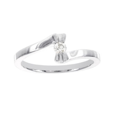 jcpenney.com | Diamond-Accent Sterling Silver Promise Ring
