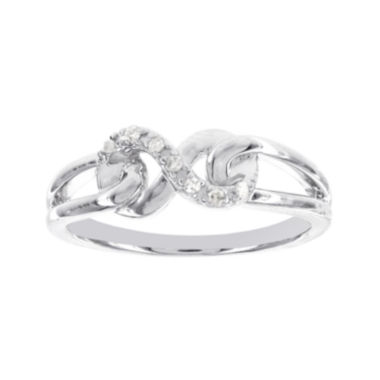 jcpenney.com | Diamond-Accent Sterling Silver Infinity Promise Ring