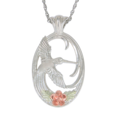 jcpenney.com | Black Hills Gold Jewelry by Coleman® Sterling Silver Hummingbird Pendant Necklace