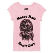 Star Wars Chewbacca Hair Graphic Tee - Girls 7-16