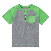 Arizona Raglan Henley Tee - Preschool Boys 4-7