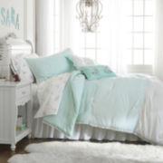 Frank and Lulu Polka Dottie Turquoise Comforter Set