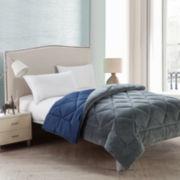 Victoria Classics Kyle Plush Plaid Reversible Comforter