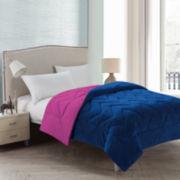 Victoria Classics Lauren Chevron Plush Reversible Comforter