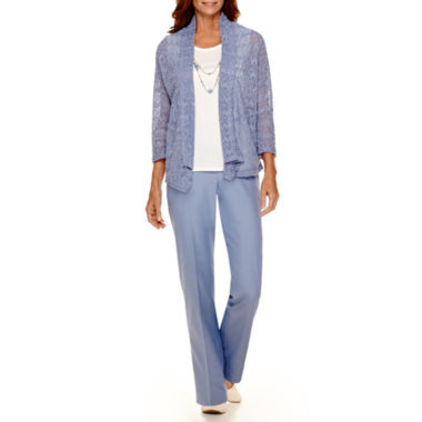 jcpenney.com | Alfred Dunner® Vienna Layered Top or Pull-On Pants