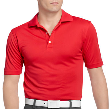 Izod golf grid performance polo shirt jcpenney for Jcpenney ladies polo shirts