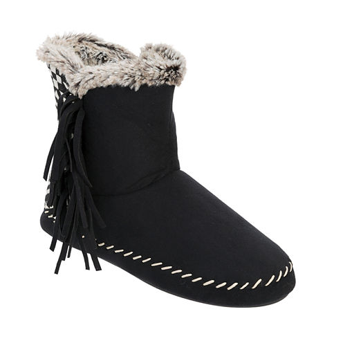 Dearfoams Tall Fringe Boot