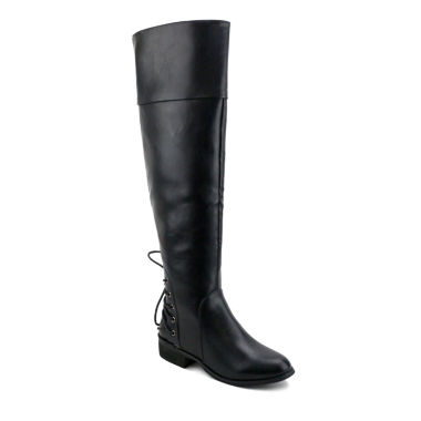 jcpenney.com | Olivia Miller Rector Womens Over the Knee Boots