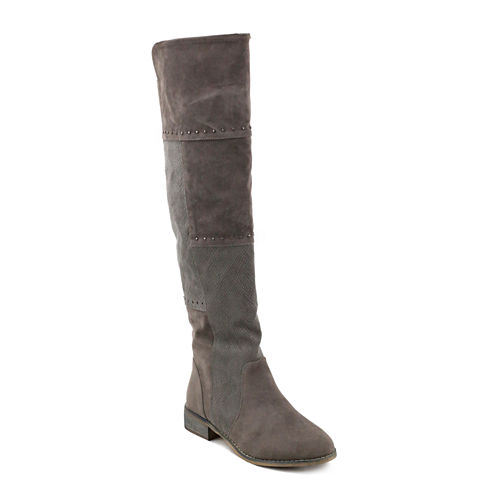 Olivia Miller Bedford Womens Over the Knee Boots