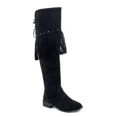jcpenney.com | Olivia Miller Woodhaven Womens Over the Knee Boots