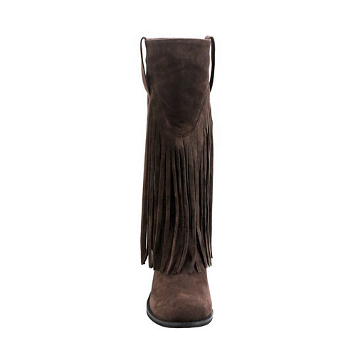 Olivia Miller Long Fringe Boots