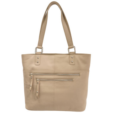 jcpenney.com | east 5th Leather Front Zip Pocket Tote Bag
