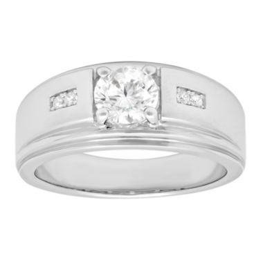 jcpenney.com | Mens Sterling Silver Cubic Zirconia Ring