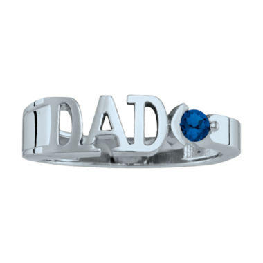 jcpenney.com | Personalized Men's Birthstone Dad Ring