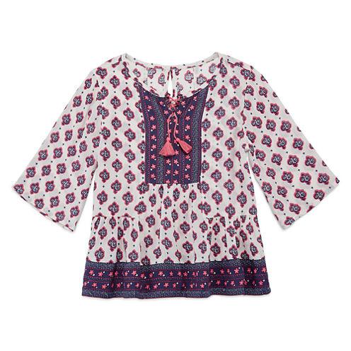 Arizona 3/4 Sleeve Blouse - Preschool Girls