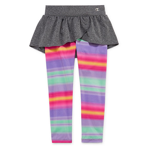 Champion Solid Knit Leggings - Preschool Girls