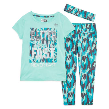 jcpenney.com | Rbx Girls 3-pc. Legging Set-Preschool
