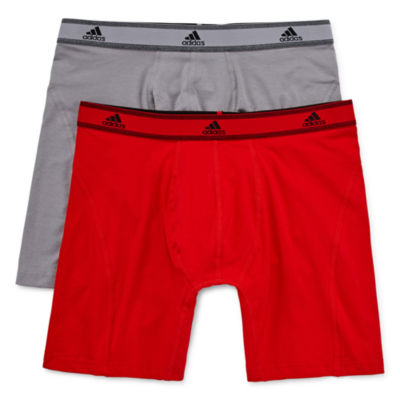 Adidas 174 2 Pk Relaxed Performance Cotton Stretch Climalite