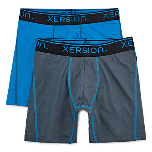 Xersion™ 2-pk. Power Boxer Briefs