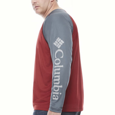jcpenney.com | Columbia Long Sleeve Crew Neck T-Shirt-Big and Tall