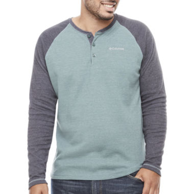 jcpenney.com | Columbia Long Sleeve Henley Shirt-Big and Tall