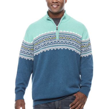 jcpenney.com | The Foundry Big & Tall Supply Co. Long Sleeve Pullover Sweater