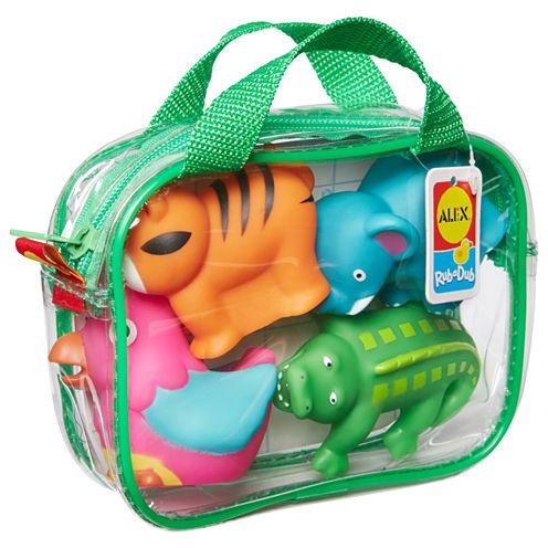 Alex Toys Rub A Dub Bath Squirters Jungle 4-pc. Toy Playset