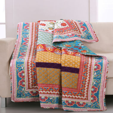 jcpenney.com | Greenland Home Fashions Thalia Quilted Throw