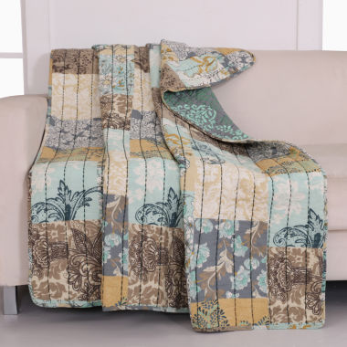 jcpenney.com | Greenland Home Fashions Elle Quilted Throw