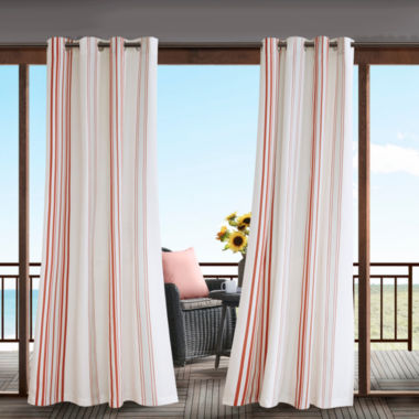 jcpenney.com | Madison Park Bolinas Grommet-Top Outdoor Curtain