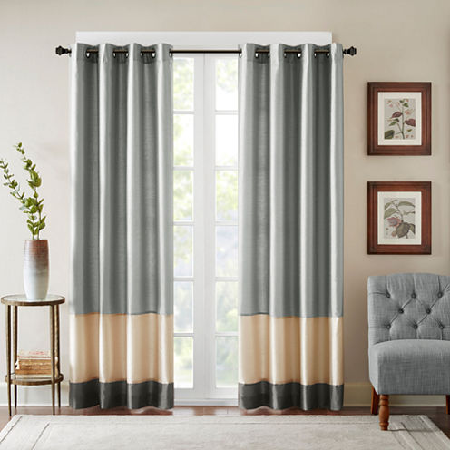 Conner Grommet-Top Curtain Panel