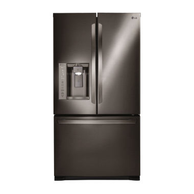 jcpenney.com | LG ENERGY STAR® 27 cu. ft. Ultra Large Capacity 3-Door French Door Refrigerator with Smart Cooling