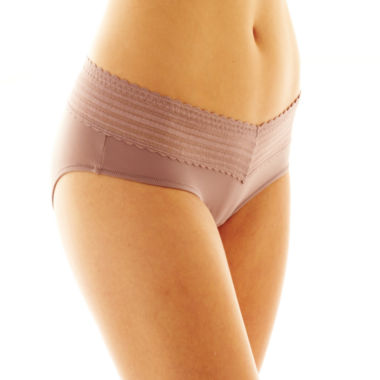 jcpenney.com | Warner's 4-pk. No Pinching, No Problems. Lace-Trim Hipster Panties - 5609J