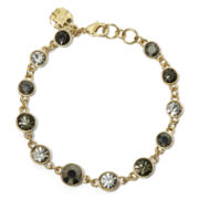 Monet® Black & Clear Crystal Bracelet in Box