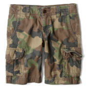 Arizona Camo Cargo Shorts - Boys 6-18, Slim and Husky