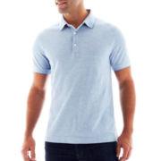 Claiborne® 2-Tone Piqué Polo Shirt