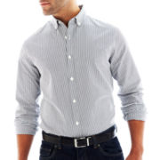 Claiborne Slim-Fit Button-Front Shirt