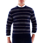 St. John's Bay® Fair Isle Knit Sweater
