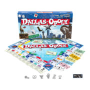 Dallas-opoly Board Game
