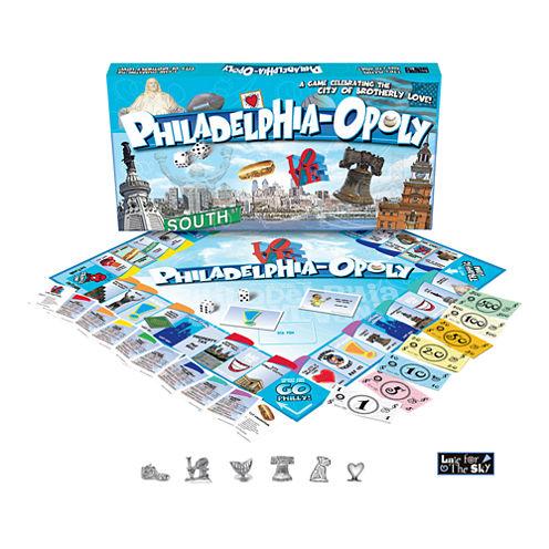 Philadelphia-opoly Board Game