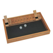 Deluxe Wood Shut the Box Game