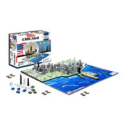 4D Cityscape Chicago Time Puzzle