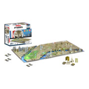 4D Cityscape Paris Time Puzzle