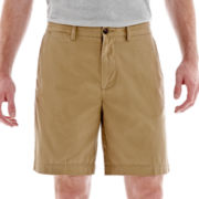 jcp™ Flat-Front Shorts