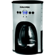 Kalorik 12-Cup Programmable Coffee Maker