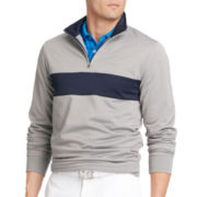 IZOD® Quarter-Zip Fleece Pullover