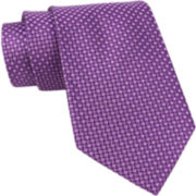 Stafford® Micro-Square Silk Tie