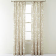 Royal Velvet® Monroe Rod-Pocket Curtain Panel