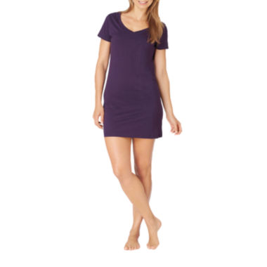 jcpenney.com | Jockey® Short-Sleeve V-Neck Nightshirt