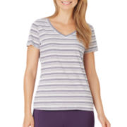 Jockey® Short-Sleeve V-Neck Sleep Tee